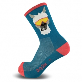 Lama - Petrol - Cycling Socks - 15 cm