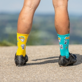 Huggermugger - Cycling socks  - Honey - 20 cm