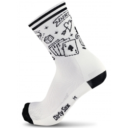 Inked - Cycling Socks - White - 18 cm