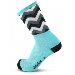 Switchback - Cycling socks  - Mint/Gray - 20 cm